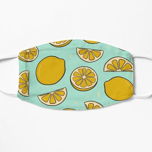 Lemon Print Flat Mask