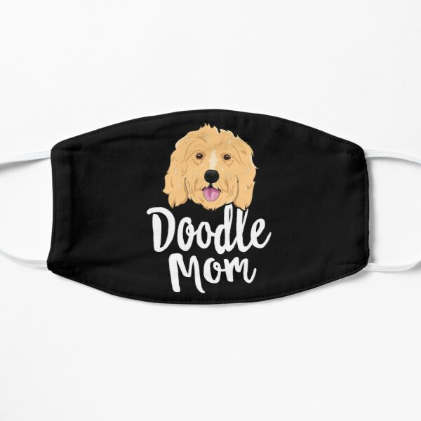 Doodle Mom T-Shirt Women Goldendoodle Dog Puppy Mother Mask