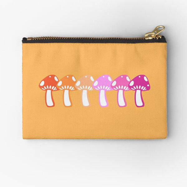 shrooms for girls who listen to girl in red Zipper Pouch