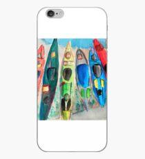 Kayaks on the Missouri River iPhone Case