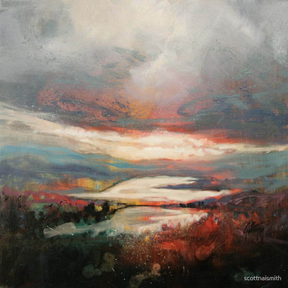 Distant Light, Loch Garry by scottnaismith