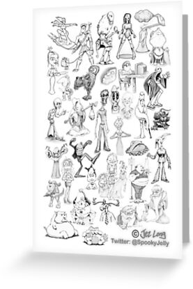 Character Collage by JezLong