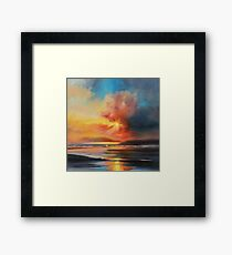 Emerging Sun Framed Print