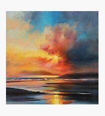Emerging Sun Photographic Print