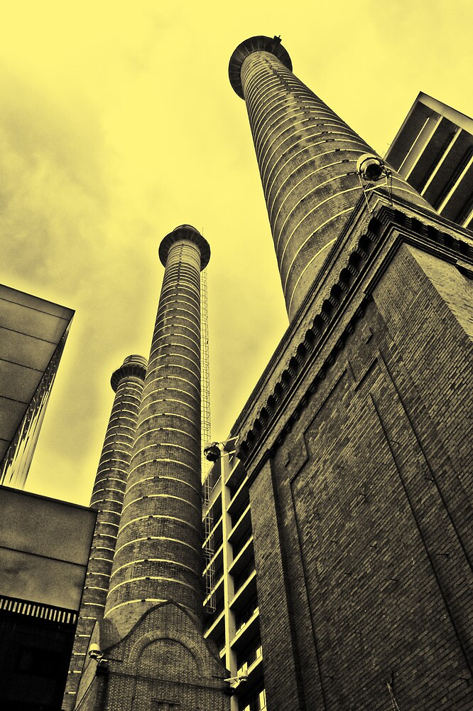 chimney tower by kavolis
