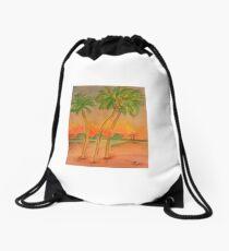 Palms in St. Augustine Drawstring Bag