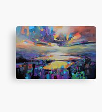 Loch Garry Transition Canvas Print