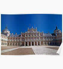 Spain. Aranjuez. Royal Palace. Poster
