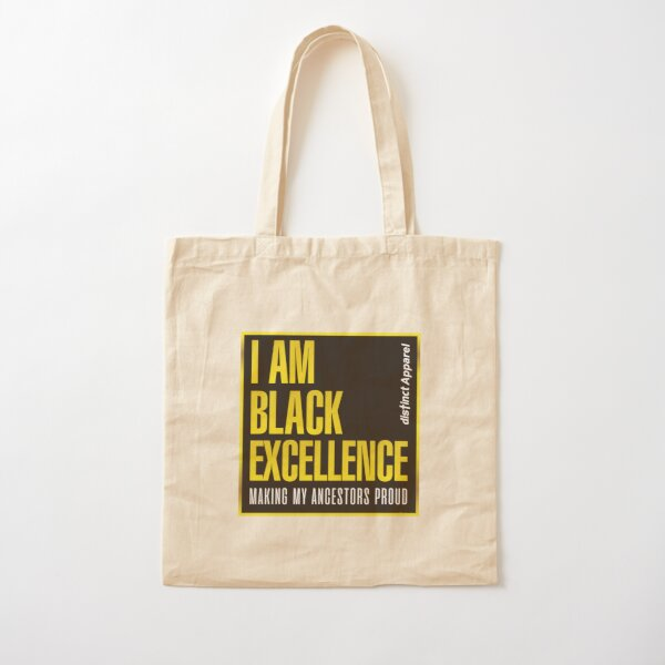 I AM BLACK EXCELLENCE Cotton Tote Bag