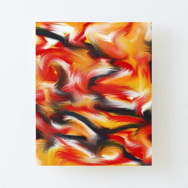 Pattern brush Canvas Mounted Print