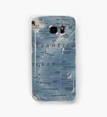 Cartography / atlantic Samsung Galaxy Case/Skin
