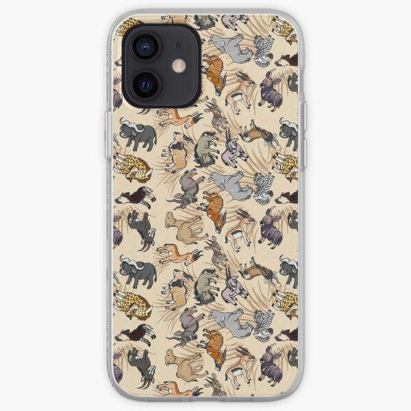 African Herbivore iPhone Soft Case