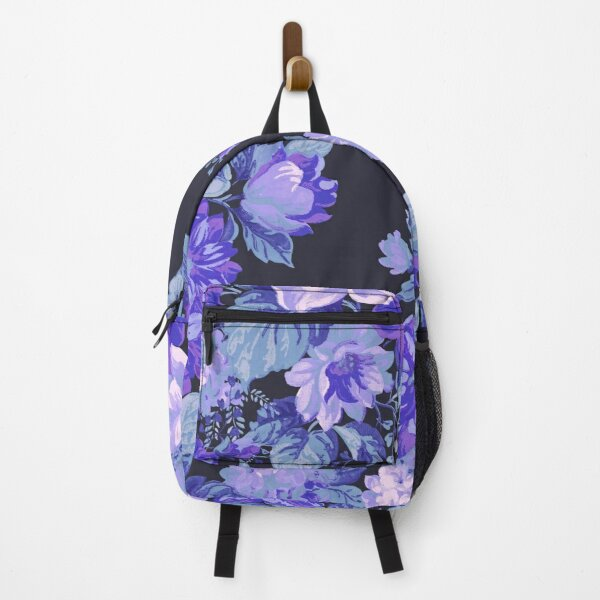 Midnight Floral Pattern Backpack