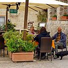 Small Pleasures (Monteriggioni, Italy) by Harry Oldmeadow
