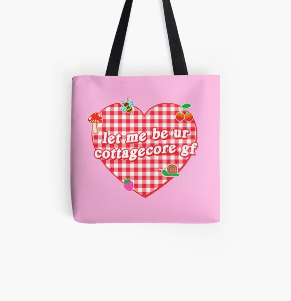 let me be ur cottagecore gf All Over Print Tote Bag