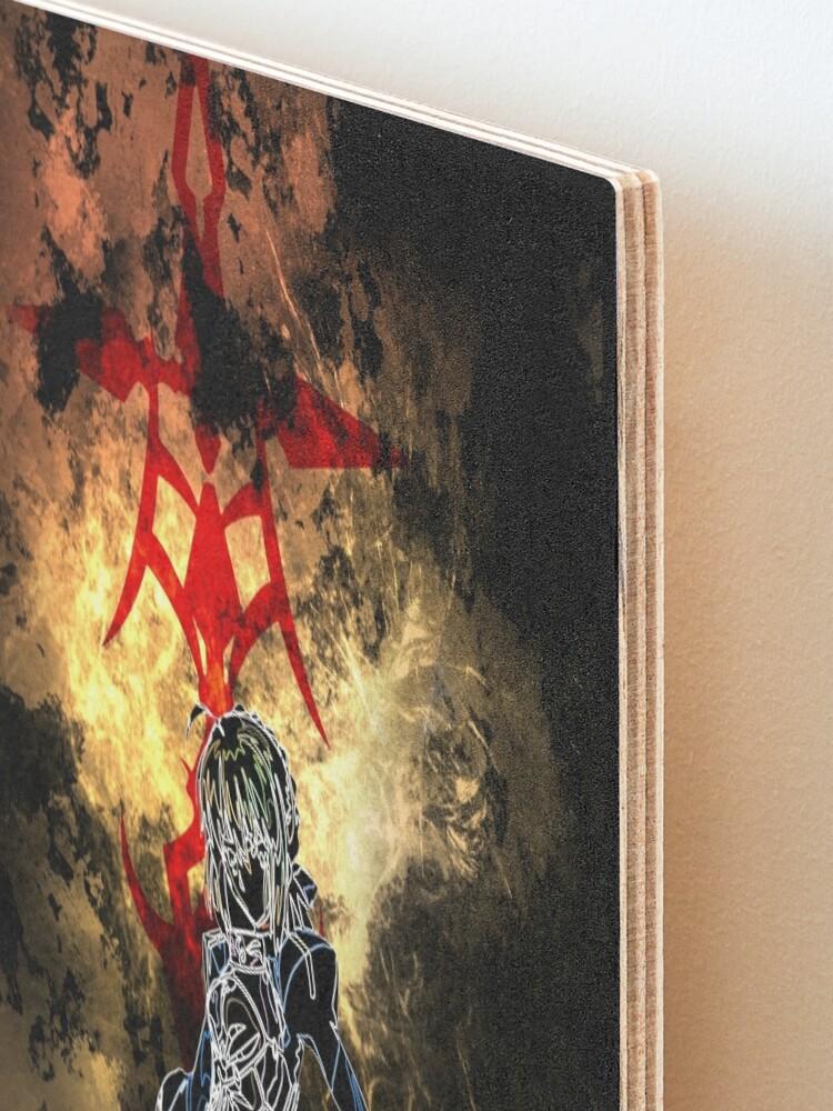 Alternate view of Saber Awakening Mounted Print