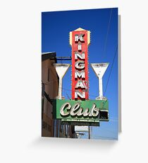 Route 66 - Kingman Club Greeting Card