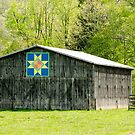 Kentucky Barn Quilt - Eight-Pointed Star by mcstory