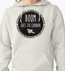 Sudadera con capucha Boom va al cañón