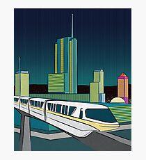 Progress City - MonoRail Photographic Print