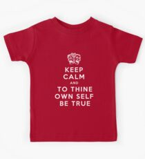 To thine own self Kids Tee