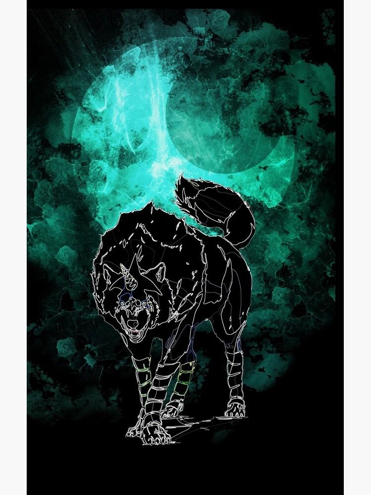Wolf awakening by ryukrabit