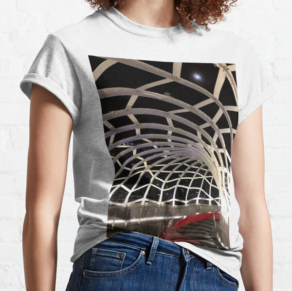 Webb Bridge at Night VII Classic T-Shirt
