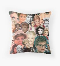 Dial M for Murder She Wrote Throw Pillow