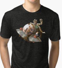 Camiseta de tejido mixto Rick 'n' Morty (transparente)