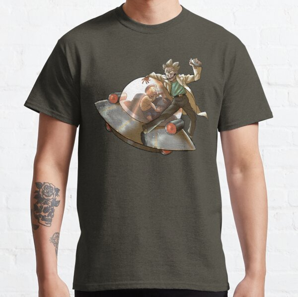 Rick 'n' Morty (transparent) Classic T-Shirt