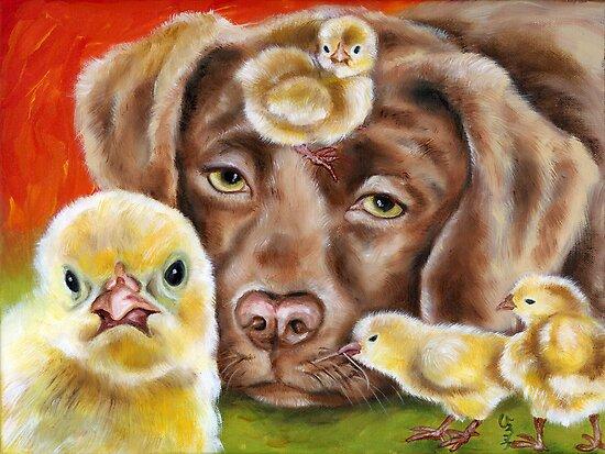 Chicksitting Afternoon by Hiroko Sakai