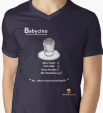 Coffee Monkey - Babychino 2 Men's V-Neck T-Shirt