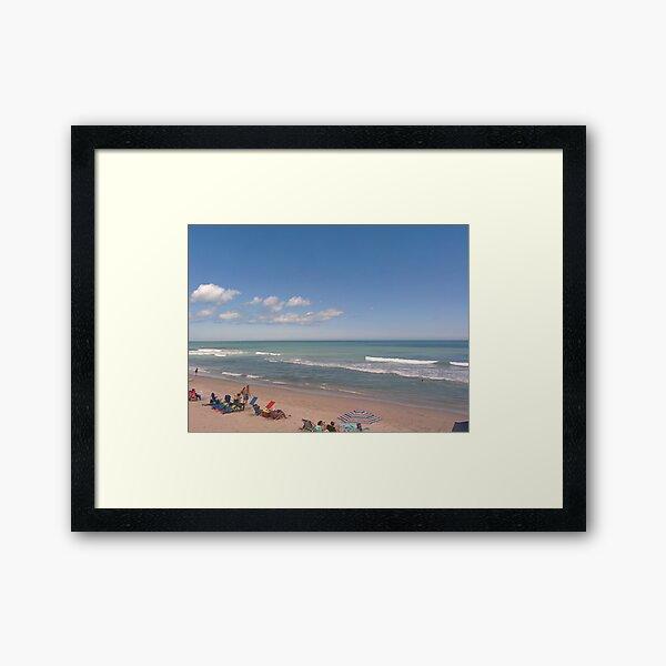 Playa Linda Beach  Framed Art Print