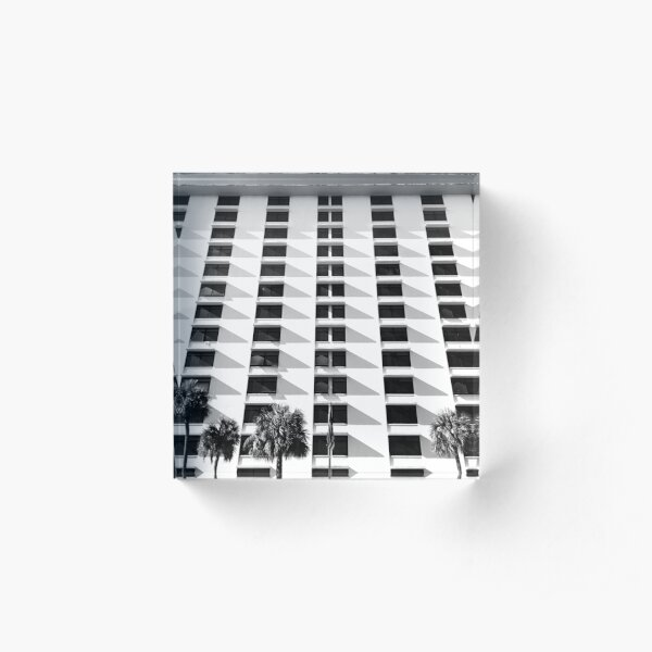 Symmetrical Vision  Acrylic Block