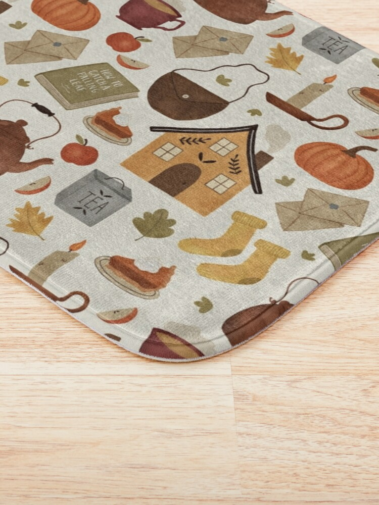 Alternate view of Autumn Cottage Days Bath Mat