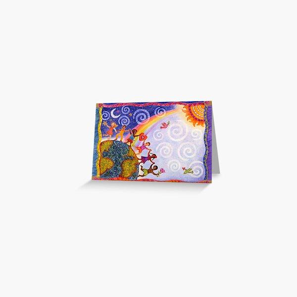 Kids Around the World Greeting Card