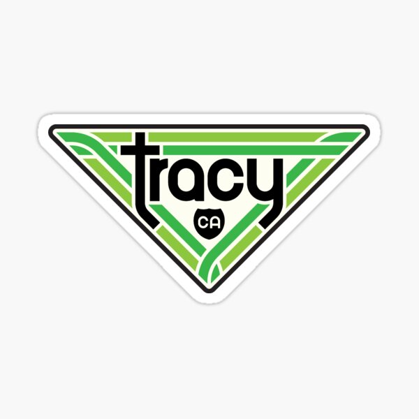 219. Tracy, CA Sticker