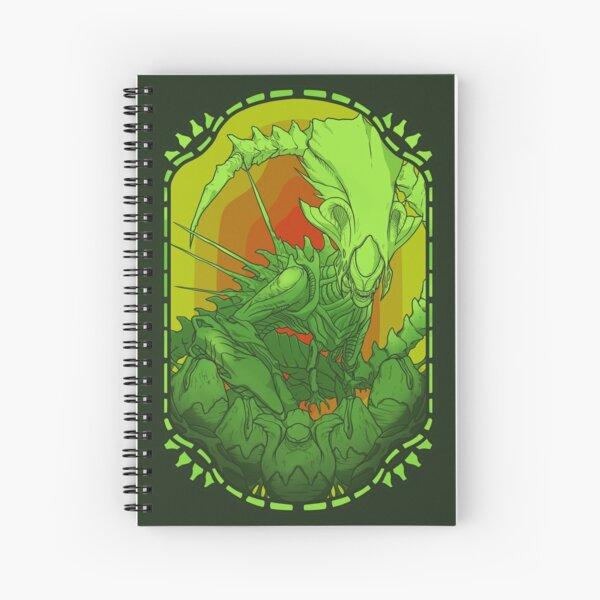 Alien Queen Spiral Notebook