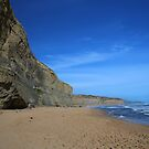 Cliff Edges and Blue skies - Great Ocean Road by kcy011