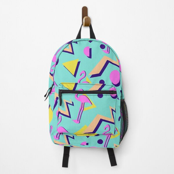 80s Memphis Pattern Backpack