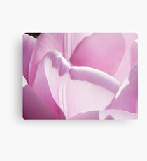 The Heart of a Tulip Canvas Print