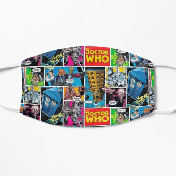 Doctor Who Comic Mask
