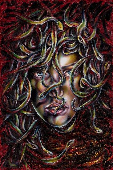 Medusa No. Three by Hiroko Sakai
