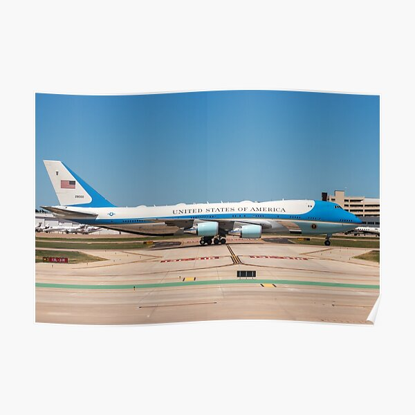 The United States Air Force One Poster