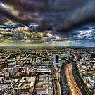 Tel Aviv Blade Runner by Ronsho