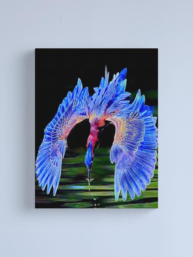 Alternate view of Diving Bird Canvas Print