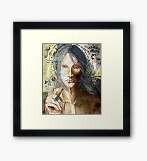 LILIUM: God Is Dead Framed Print