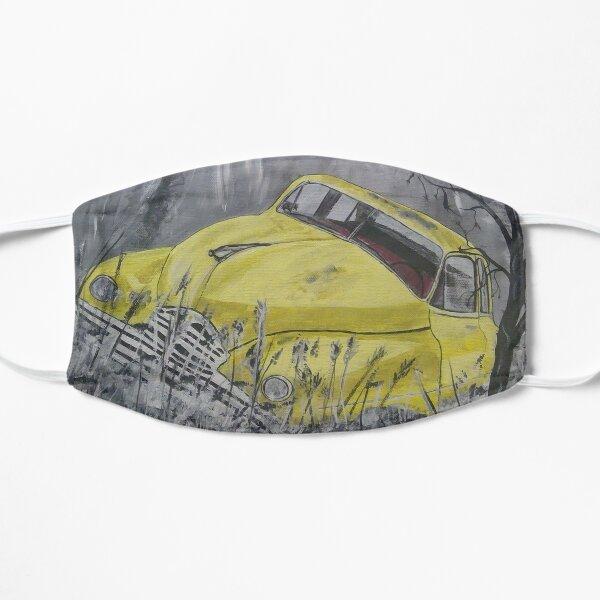 Mellow Yellow Old Car Mask