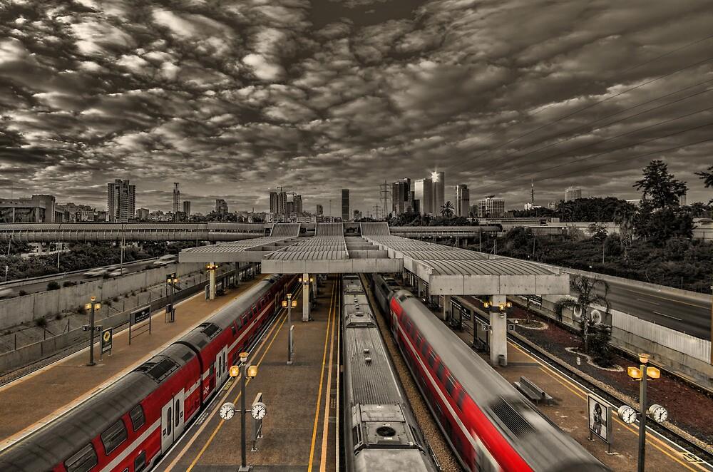 Tel Aviv central railway station by Ronsho