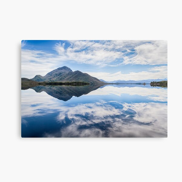 Mount Rugby, Bathurst Harbour Metal Print